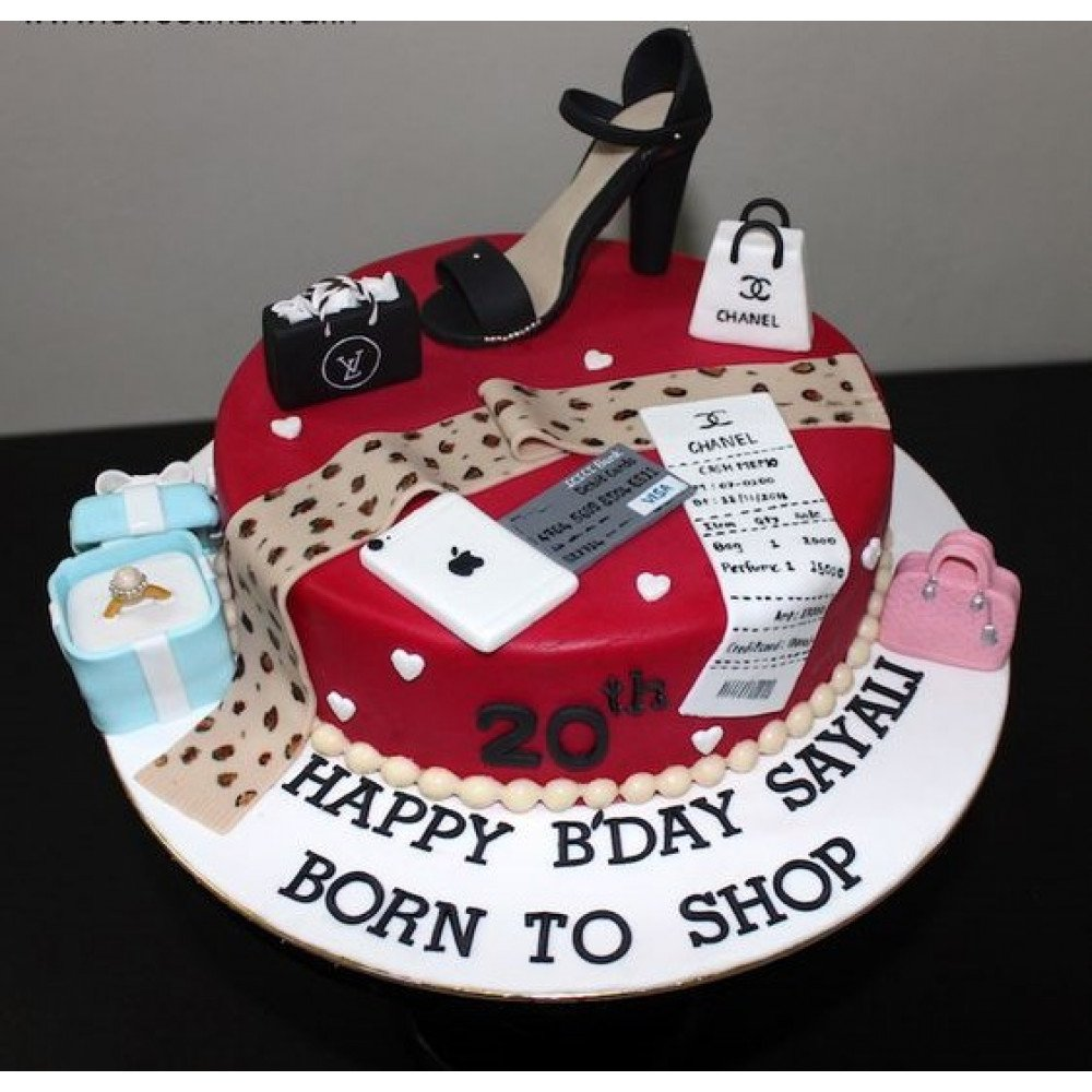 Sensational 20Th Birthday Cake 1 5 Kg 20Th Birthday Is Very Special For Every Funny Birthday Cards Online Inifodamsfinfo