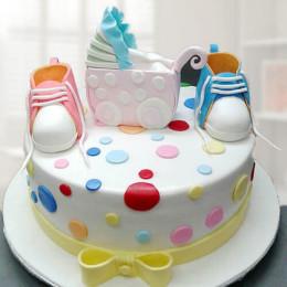 Baby Shower Cake - 2 KG