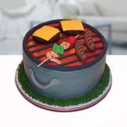 Barbeque Cake - 500 Gm