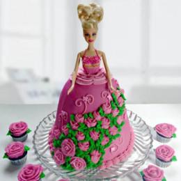 Barbie Cake - 2 KG