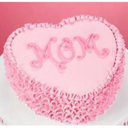 Moms Heart Cake-500 Gms