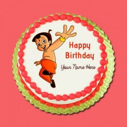 Chotabheem Photo Cake - 500 Gm