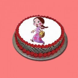 Chutki Photo Cake - 500 Gm