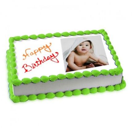 Photo Cake Pineapple - 500 Gm