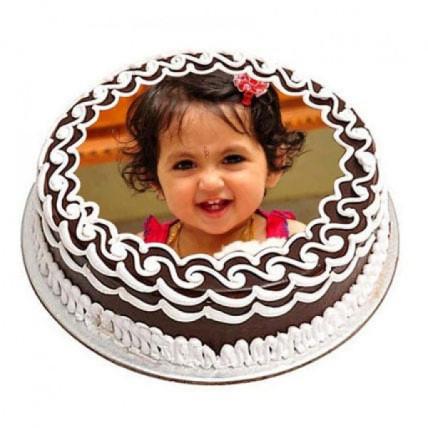 Chocolate Photo Cake - 500 Gm