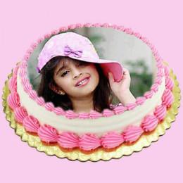 Photo Round Cake - 1 Kg