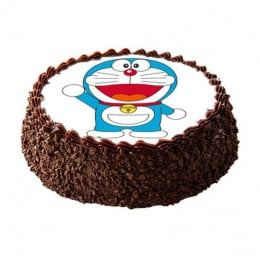 Doraemon Photo Cake- 500 gm