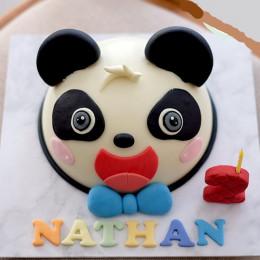 Panda Pinata Cake