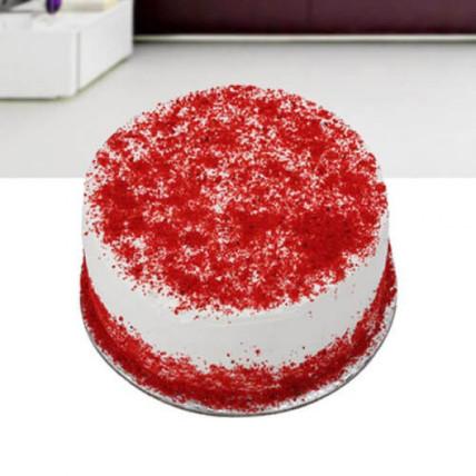 Red Velvet Cream Cake - 500 Gm