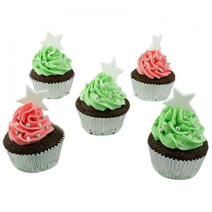 Assortment Of Choco Cream Cupcakes-set of 6