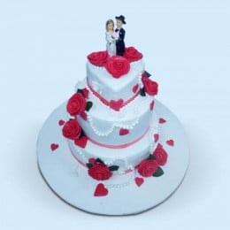 Bride And Groom Cake - 6 KG