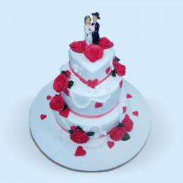 Bride And Groom Cake - 6 KG