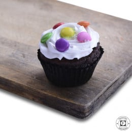 Choco Vanila Gems Cup Cake-set of 6