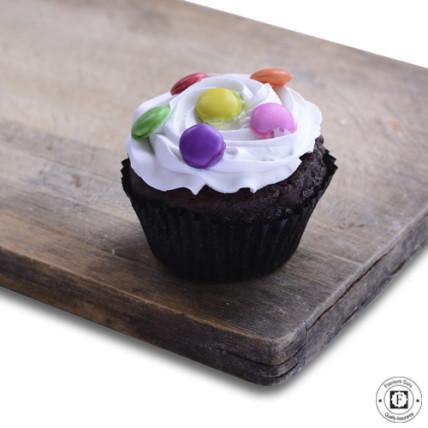 Choco Vanila Gems Cup Cake-set of 6