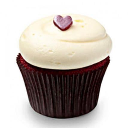 Cute Red Velvet Cupcakes-set of 6