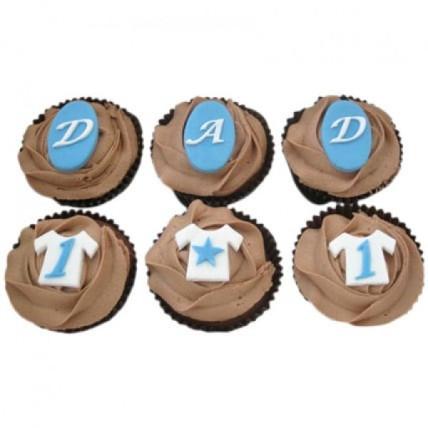 Dad Special Cupcakes-set of 6