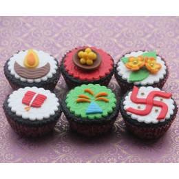 Deepawali Cupcakes