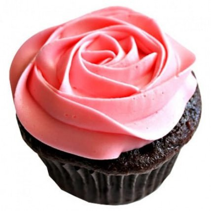 Delicious Rose Cupcakes-set of 6