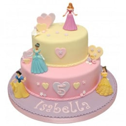 Disney Princess Celebration Cake-4 Kg