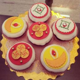 Diwali Mini Cakes