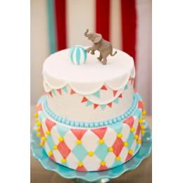 Elephant Carnival Cake-4 kg