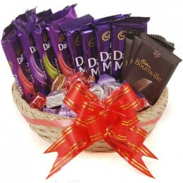 Exotic Chocolate Basket