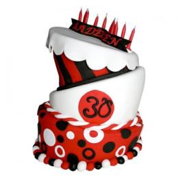 Exquisite Red Cake - 5 KG