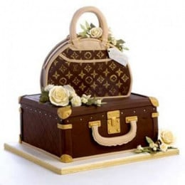Falunt Your Lv Bag Cake - 5 KG