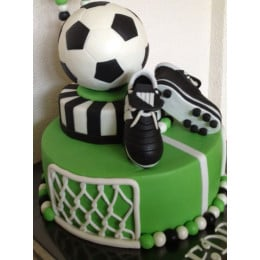Football & Boot Cake-4 Kg
