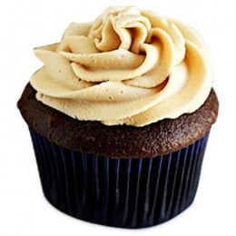 Frosted Peanut Butter Cupcakes-set of 6