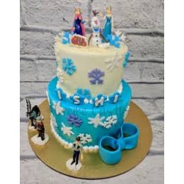 Frozen Characters Cake-4 Kg