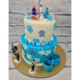 Frozen Characters Cake-4 Kg