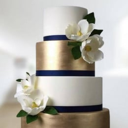 Golden Anniversary Cake - 6 KG