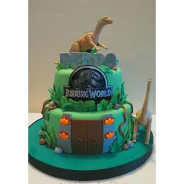Jurassic World Cake-4 Kg