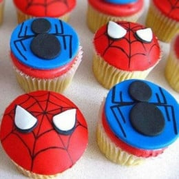 Meet The Spiderman Cupcakes- set of 6
