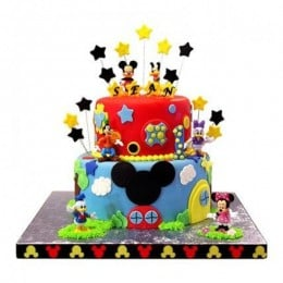 Mickey Mouse Adda Cake - 5 KG