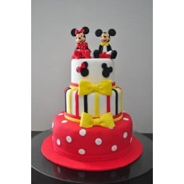 Minnie & Mickey Cake-5 Kg