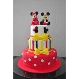 Minnie & Mickey Cake-4 Kg