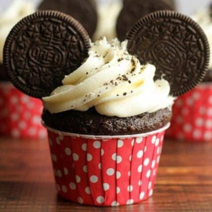 Oreo Twirling Cupcakes-set of 6