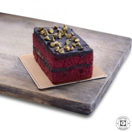 Red Velvet Choco Brownie Pastry-set of 4