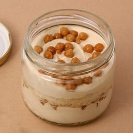 Set Of 2 Crunchy Butterscotch Jar Cake