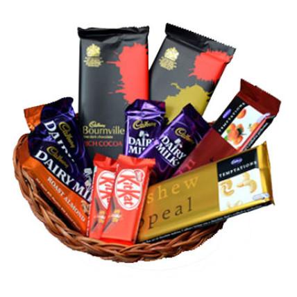 Small Chocolate Basket