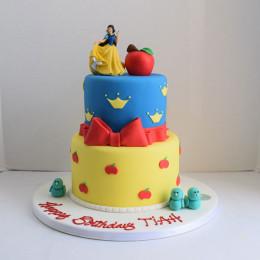 Snow White Cake-4 Kg