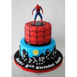 Spiderman Cake-4 Kg
