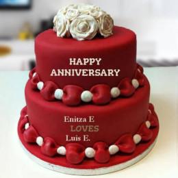 Sweet Anniversary Cake - 4 KG