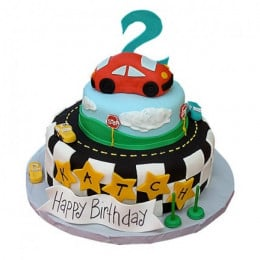 The Cool Car Cake - 4 KG