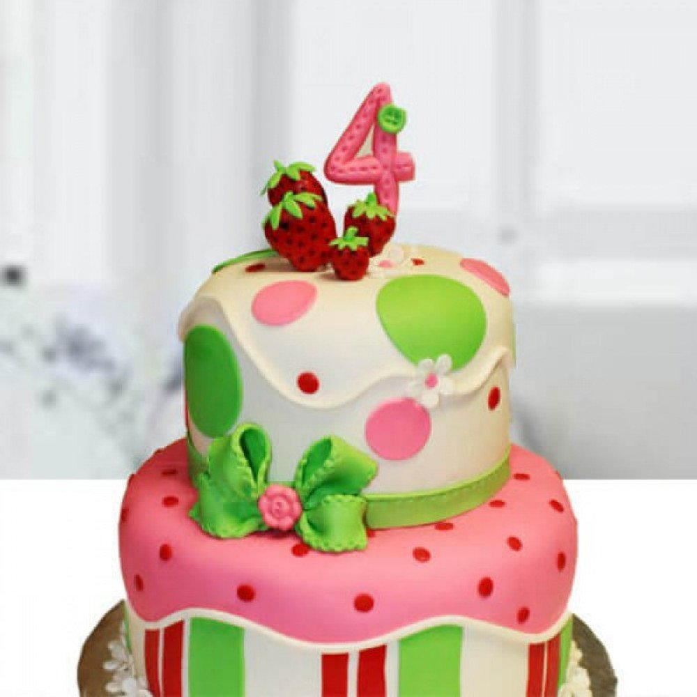 Awe Inspiring Two Layer Birthday Cake If You Are Looking For An Innovative Cake Funny Birthday Cards Online Overcheapnameinfo