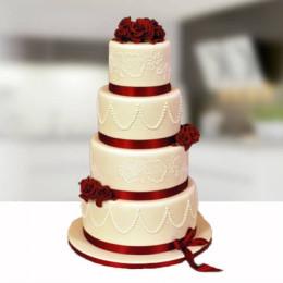 Wedding Rose Cake - 8 KG