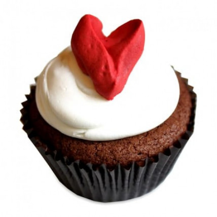 With Love Cupcakes-set of 6
