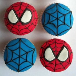 World Of Spiderman Cupcakes-set of 6